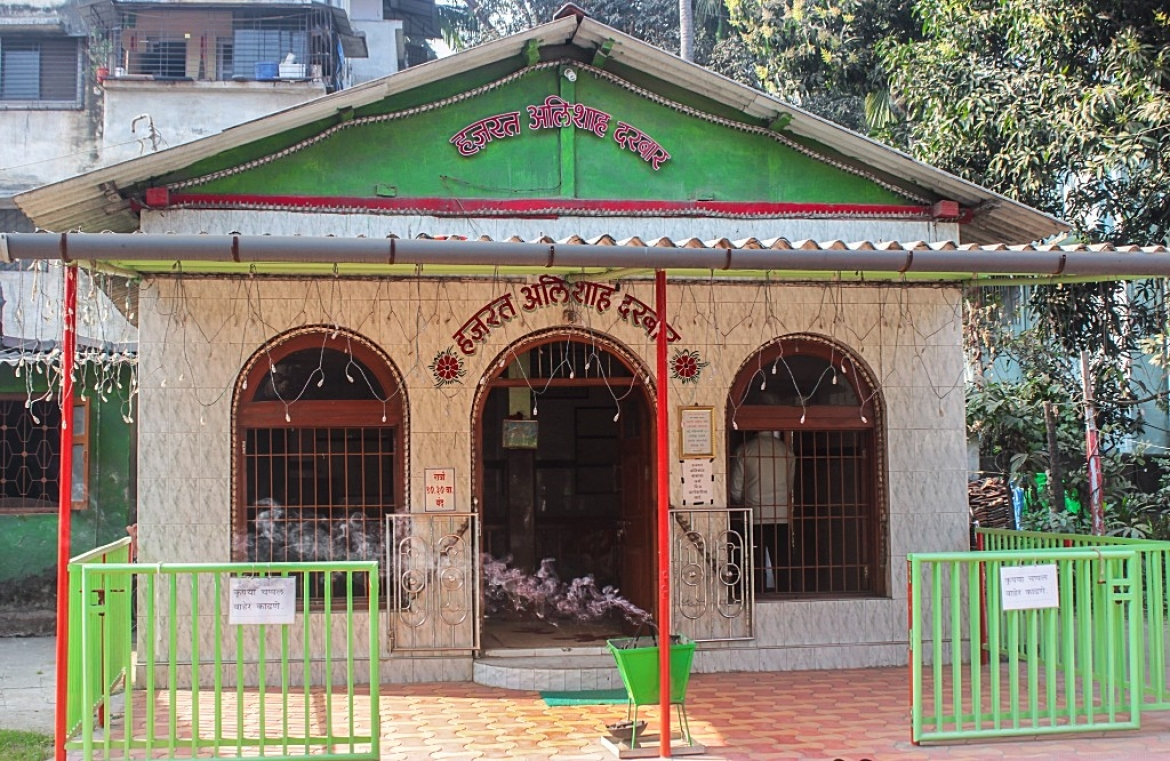 The Ali Durgah - in memory of the man after whom Alibaug was named
