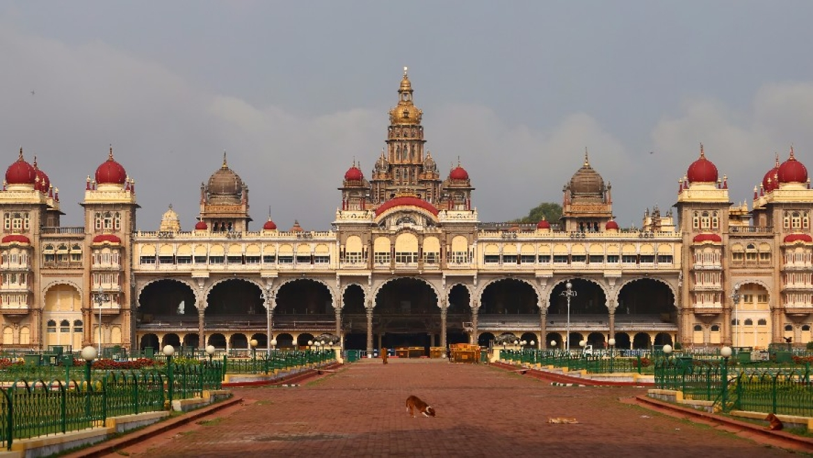 The Amba Vilas Palace in Mysore