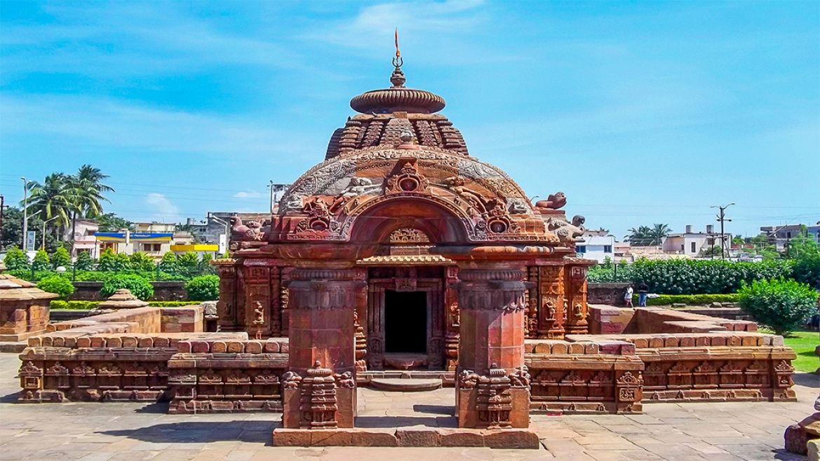 Mukteshwar temple at Bhubaneshwar