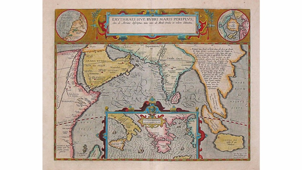 One of the maps from the Periplus of the Erythraean Sea