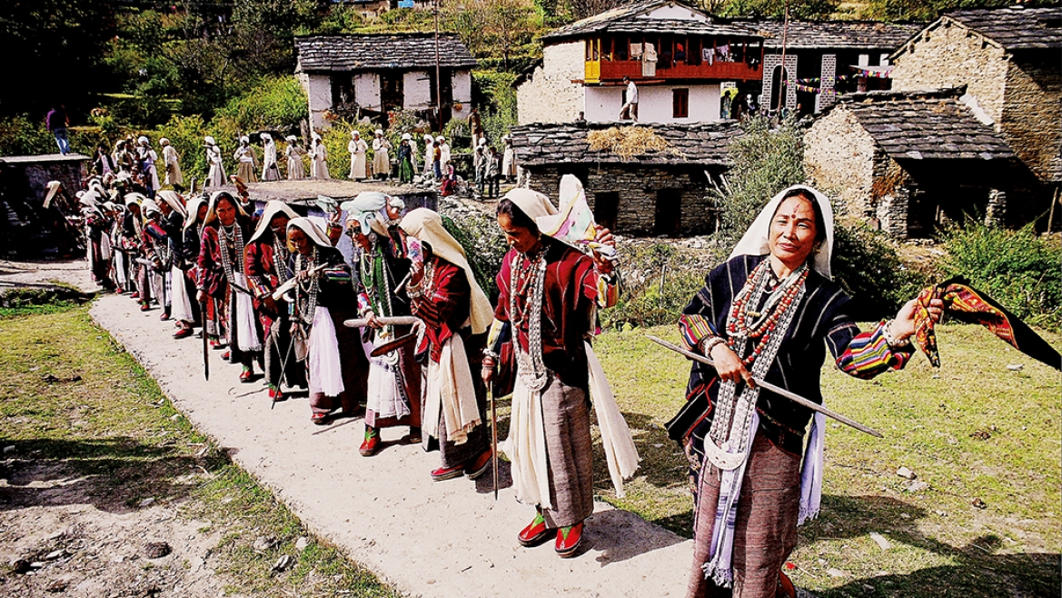The book examines the position of women in Kumaon society