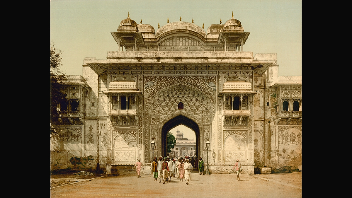 Ganesh Pol, City Palace Jaipur by Photoglob Zurich circa 1890 CE