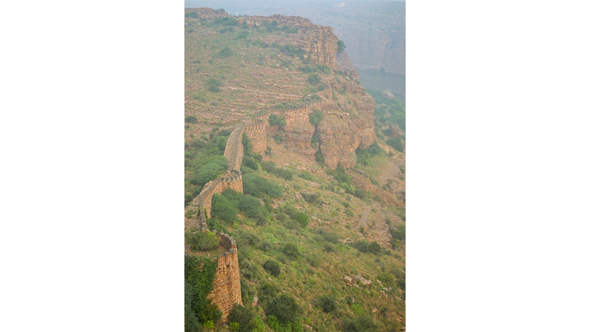 Gandikota Fort wall