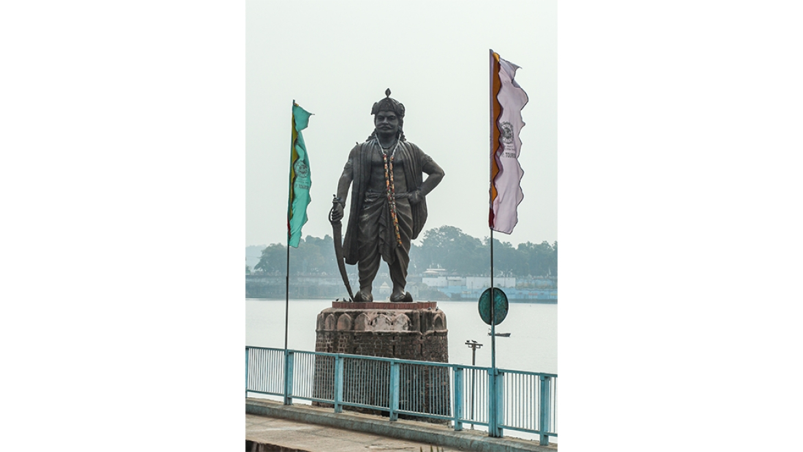 Statue of Raja Bhoj at Bhopal