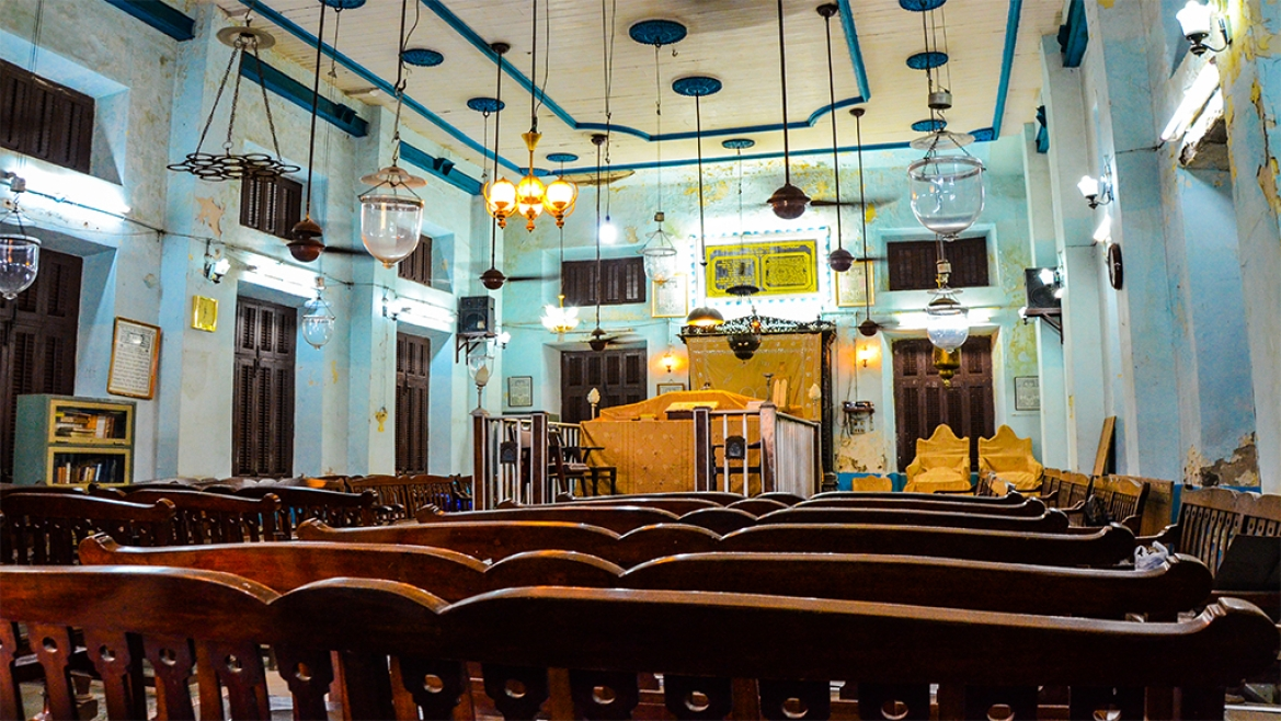The oldest Bene Israeli synagogue Shah Harahamim