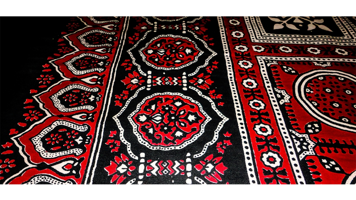 Ajrakh fabric from Sindh
