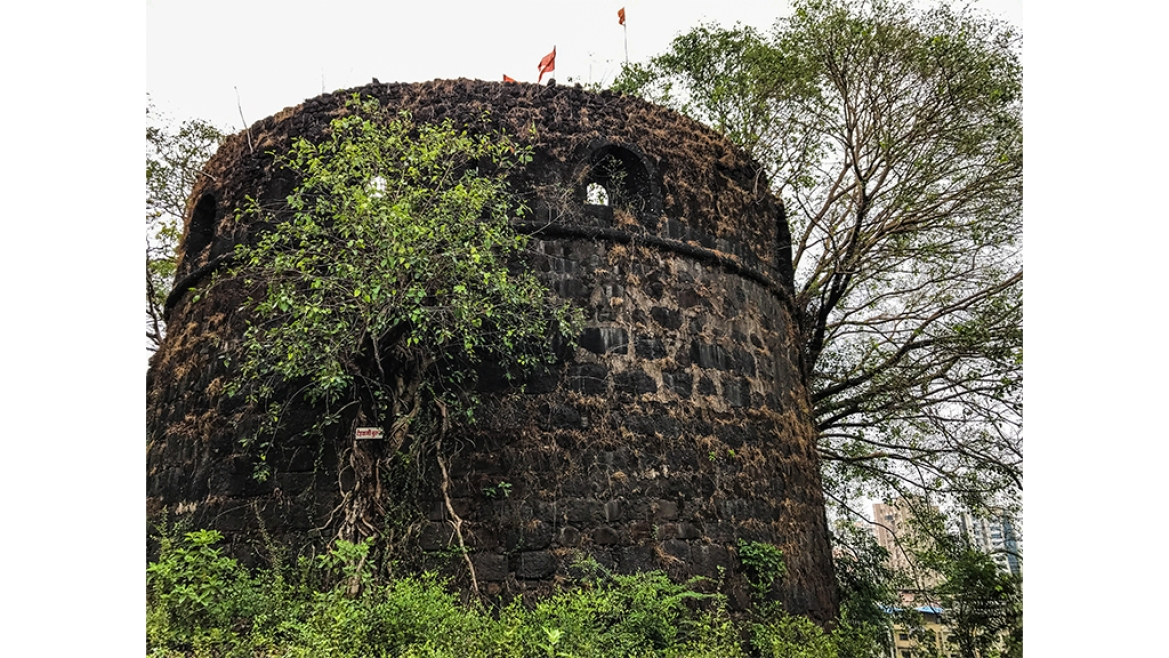 Bastion inside the Belapur Fort