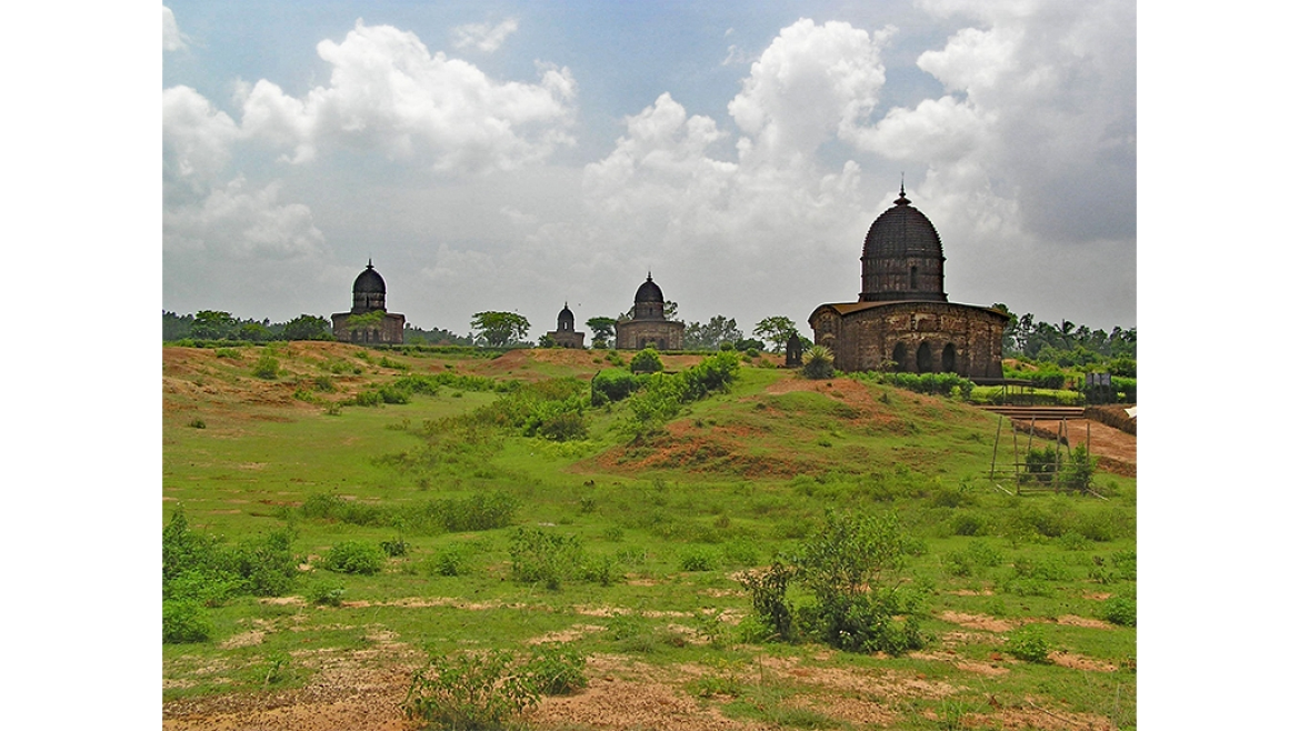 The temple town of Bishnupur