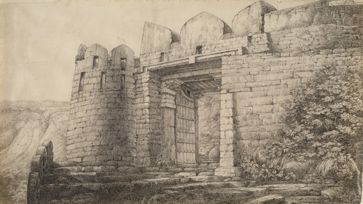 Entrance to the Kalinjar Fort