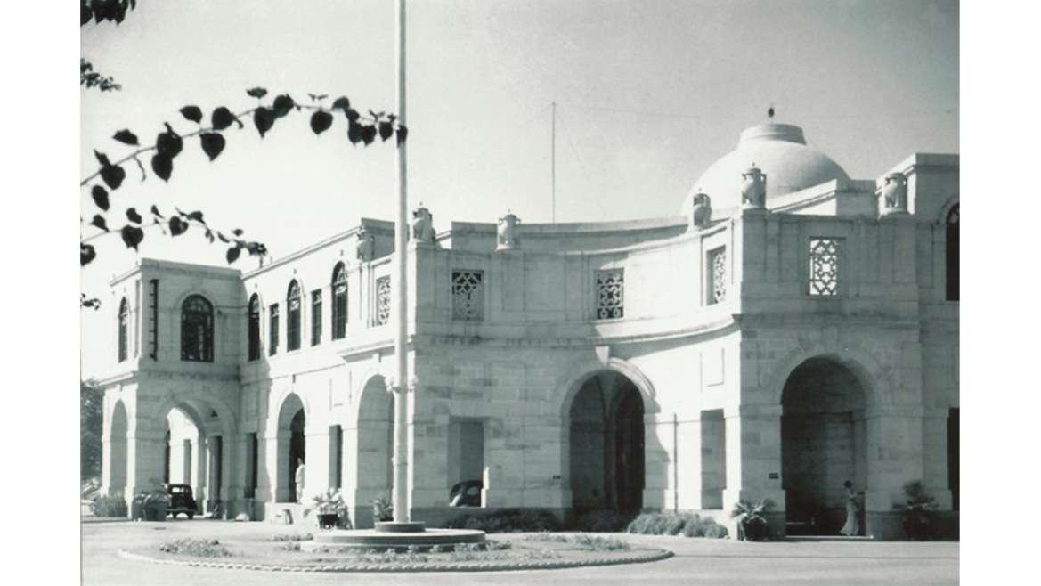 Baroda House: Housing the Railways