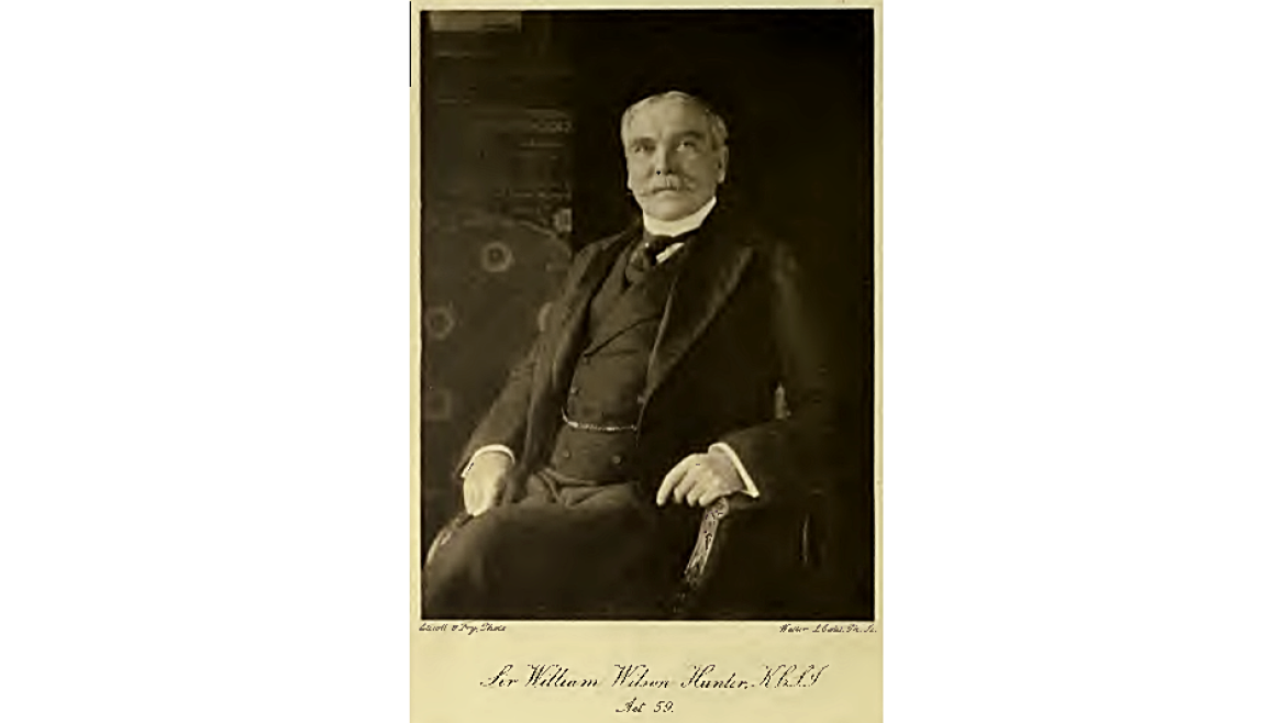 Photograph of W.W. Hunter