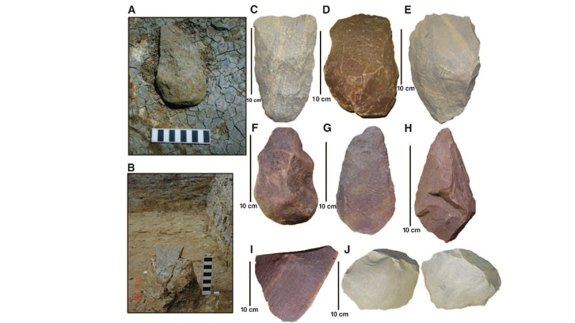 Stone tools from Attirampakkam