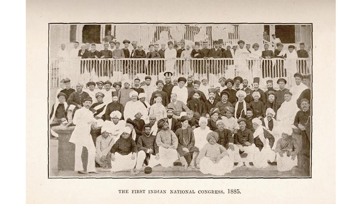 The First Indian National Congress 1885