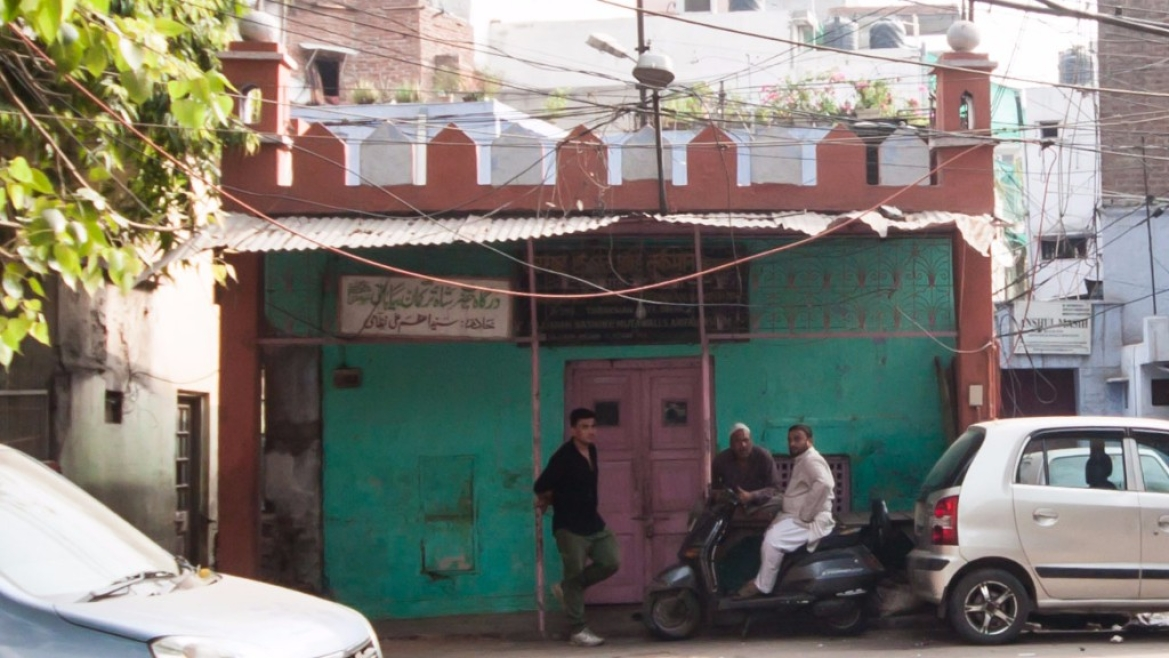 A small building next to Turkman Gate, claiming to be the shrine of Shah Turkman