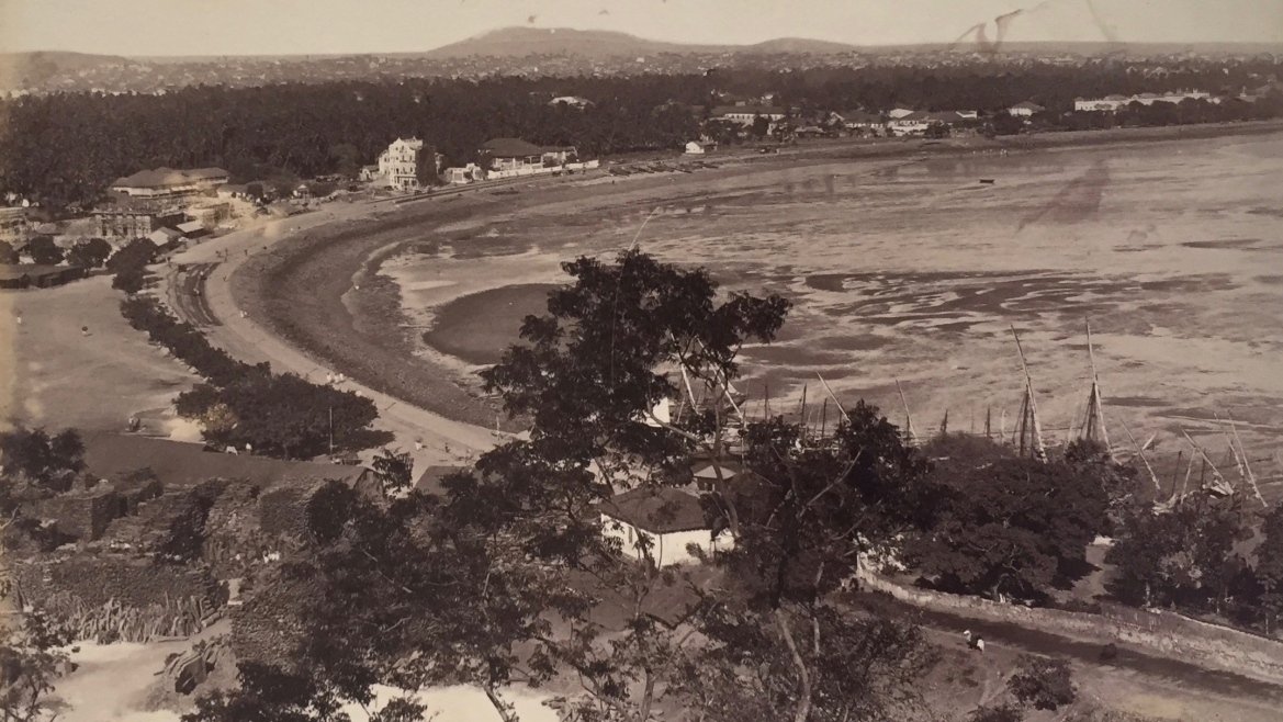 View from Malabar Hill, Bombay, 1880
