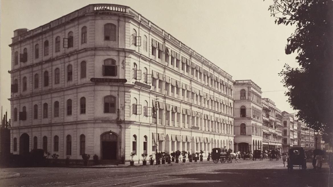 Apollo Hotel, Bombay, 1873