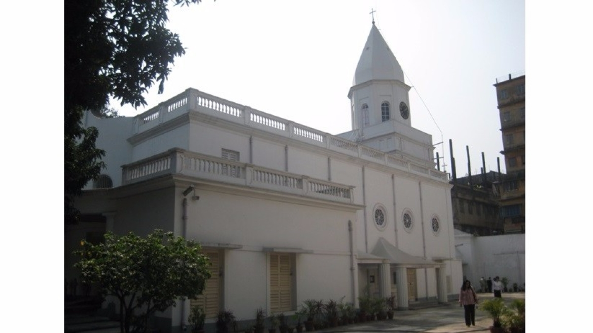 Armenian church - Holy Church of Nazareth at Kolkata