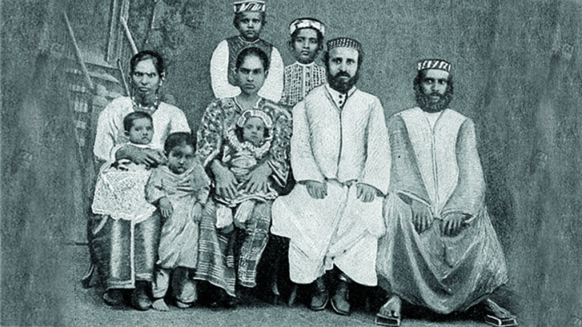 A family of Cochin Jews