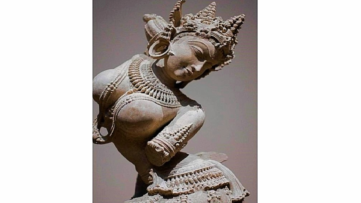 Apsara: A figure that often appears in plays