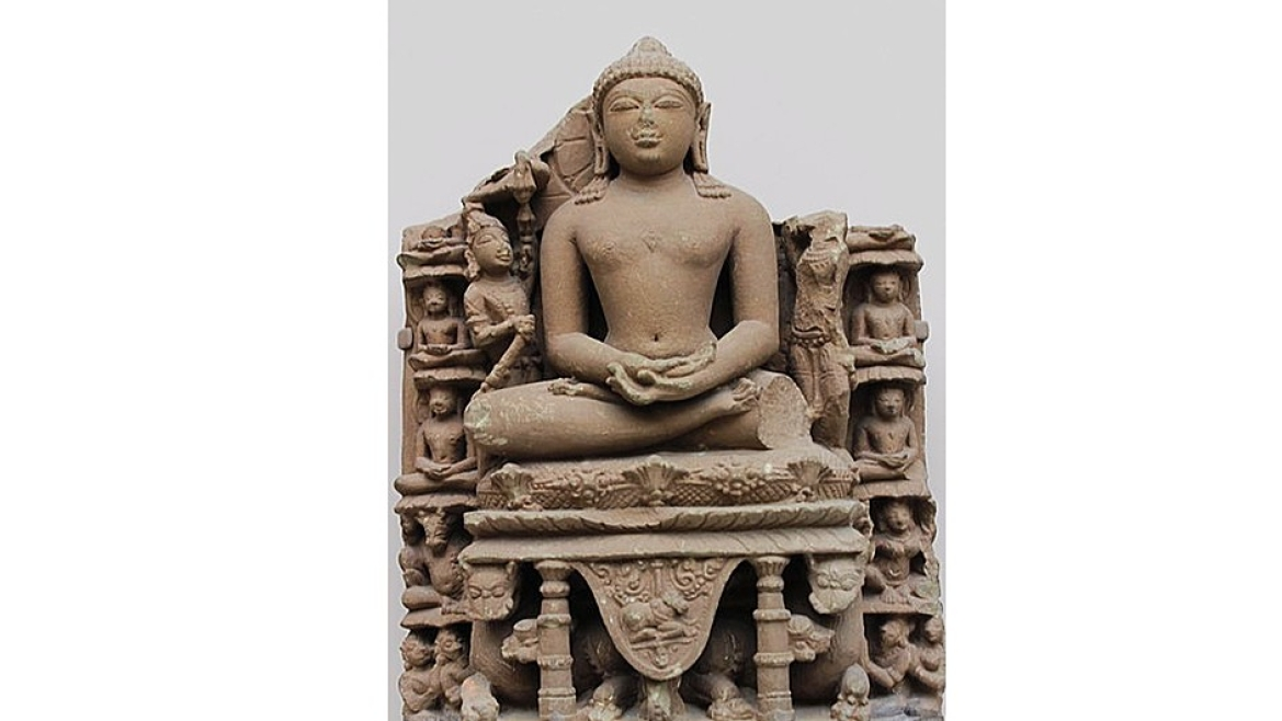 10th century CE sculpture of Adinath