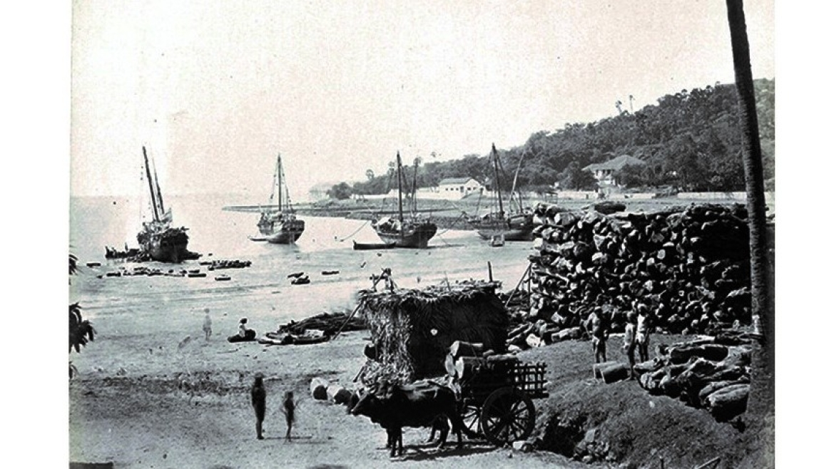View of Chowpatty from the 19th century