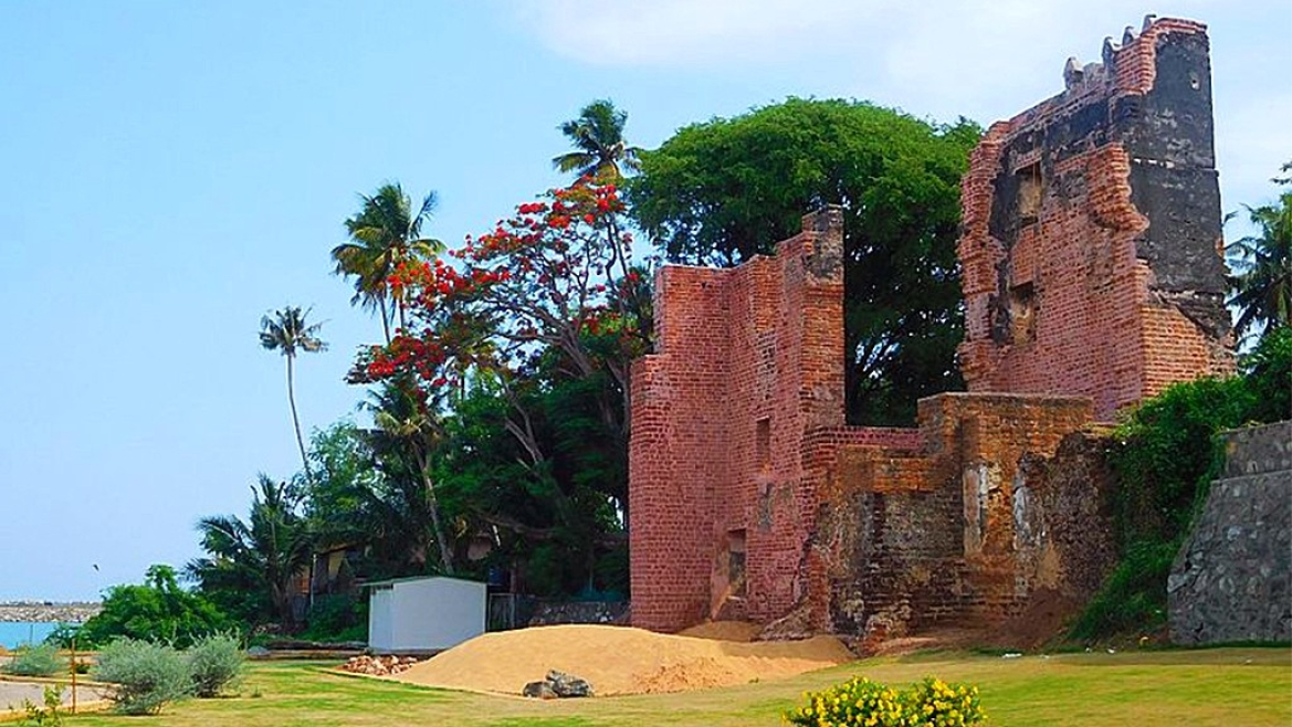 St. Thomas fort in Kollam, Kerala