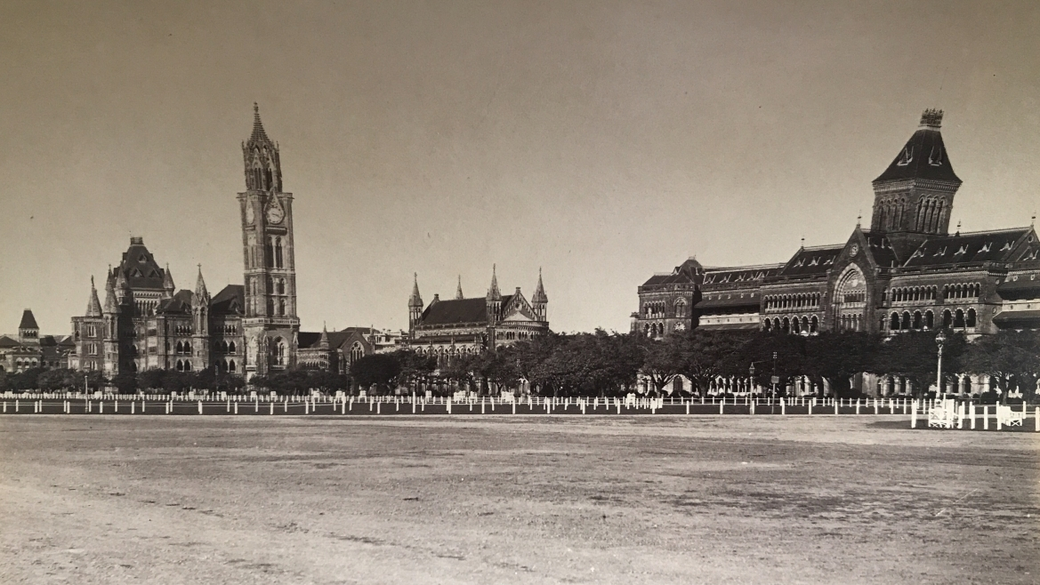 General view of Public buildings, Bombay, 1885