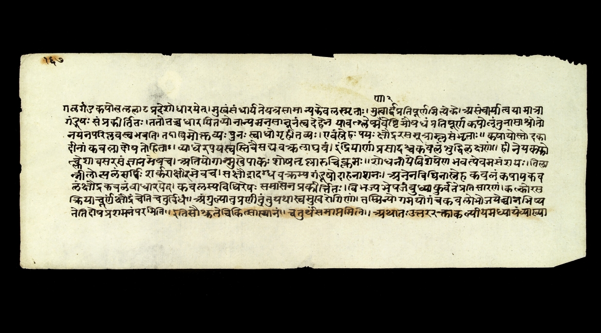 A folio from Sushruta Samhita