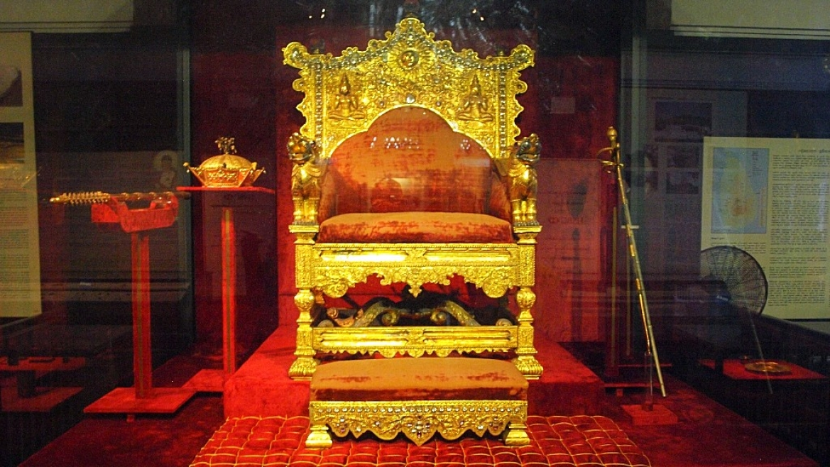 Throne of the Kingdom of Kandy