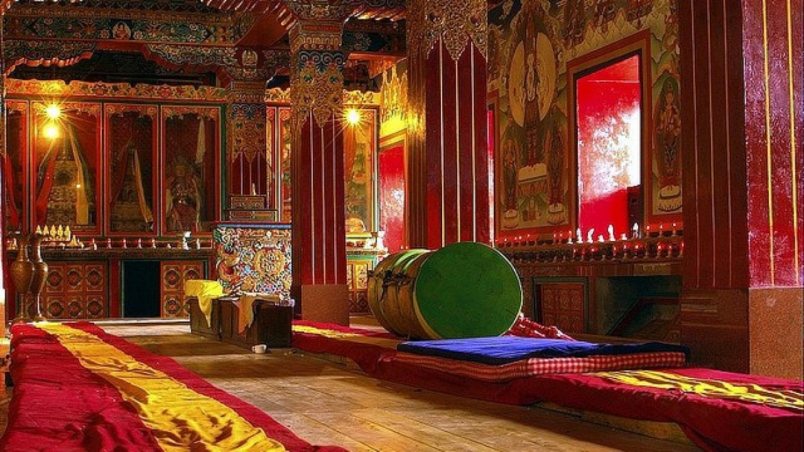 Tawang Monastery Assembly Hall