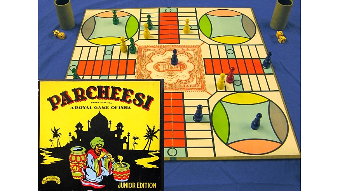 American adaptation of Indian board game, Pachisi