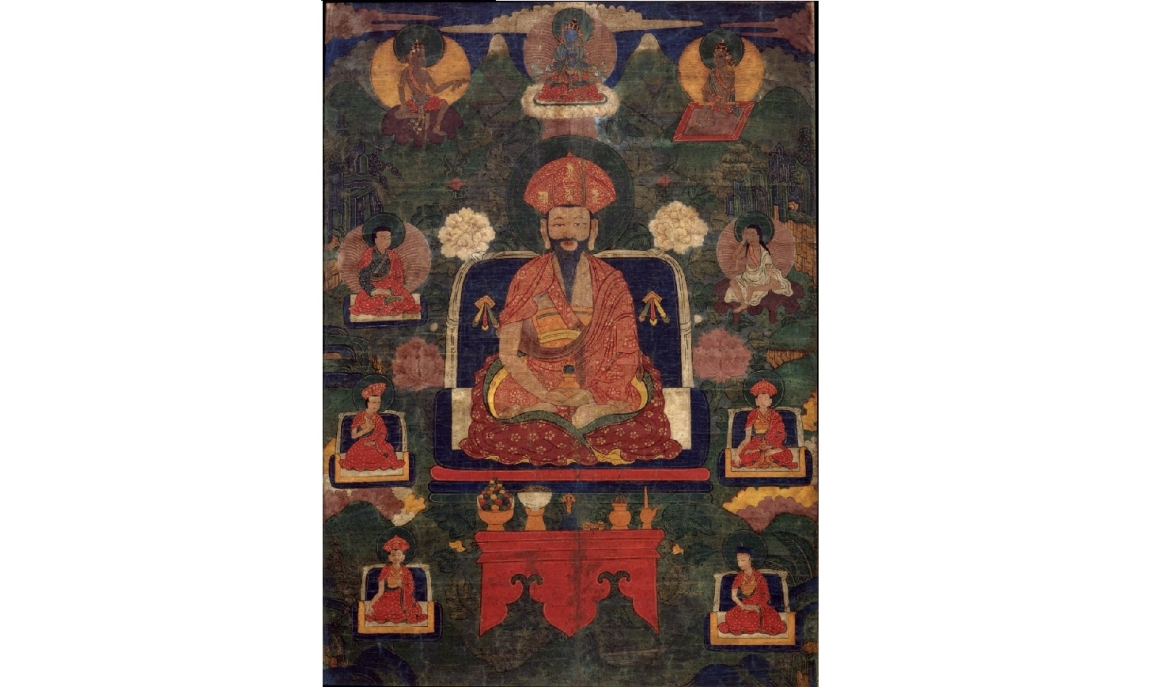 Painting of Ngawang Namgyal