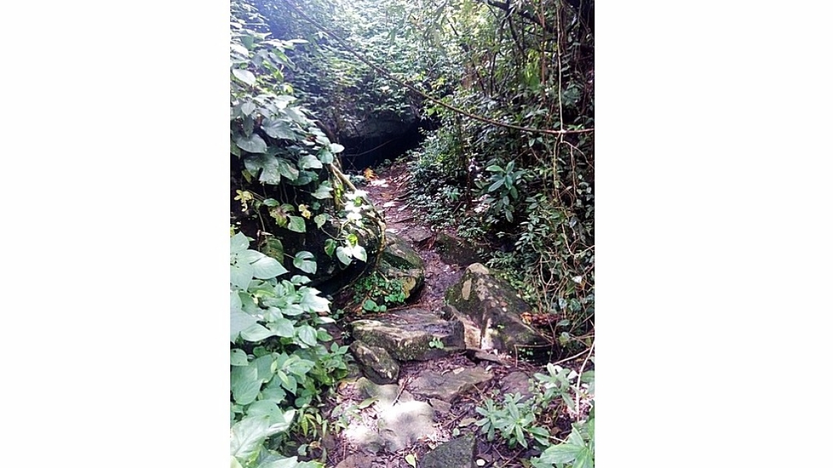 Cave hideout used by the Raja in Wayanad forest