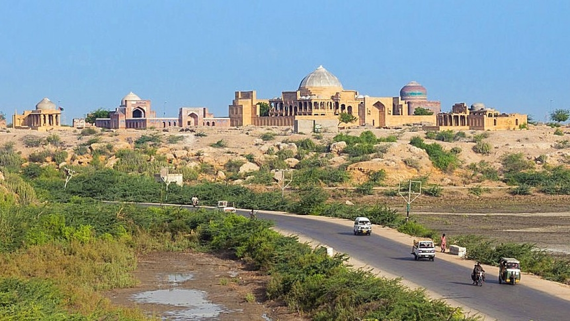 The town of Thatta, Sindh