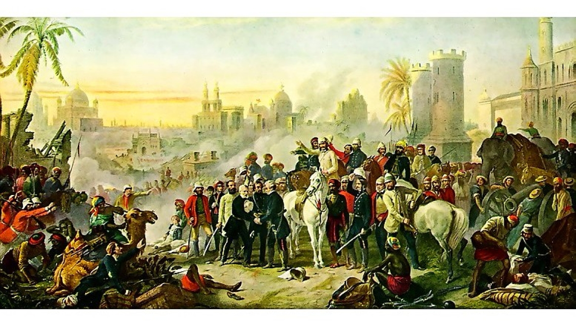 Portrait of Siege of Lucknow by Thomas Barker, 1914