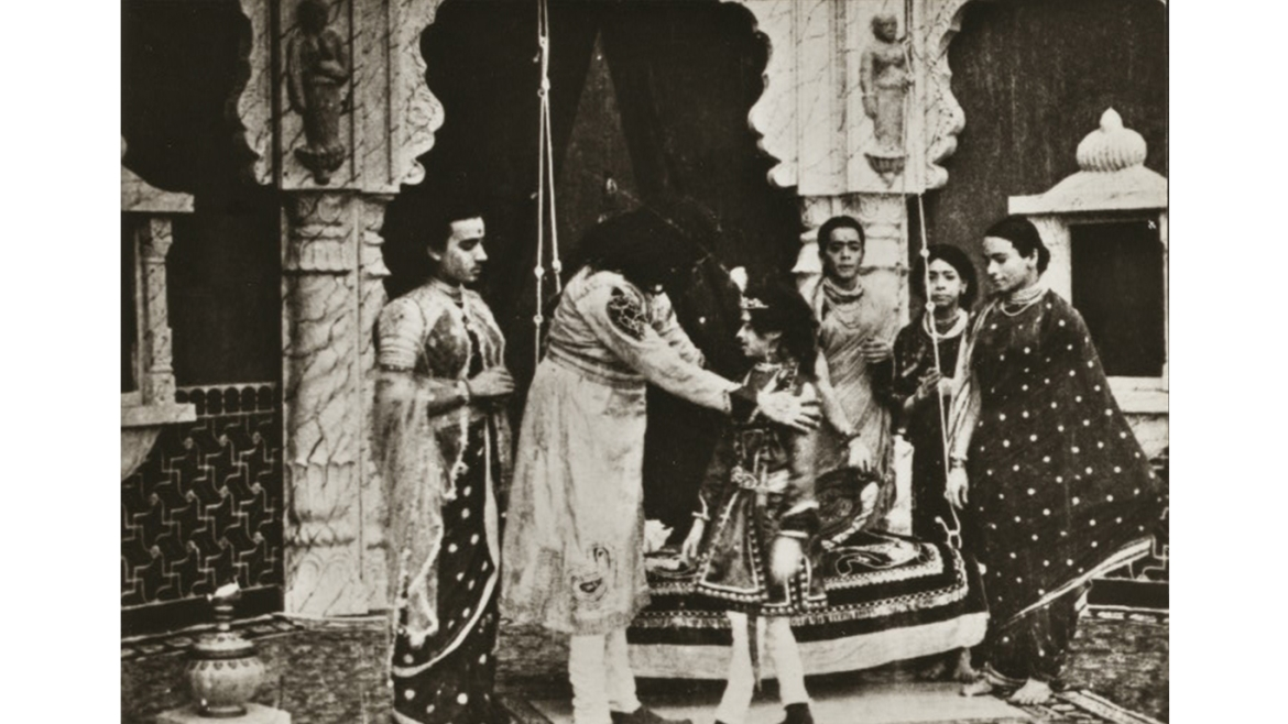 A still from movie Raja Harishchandra