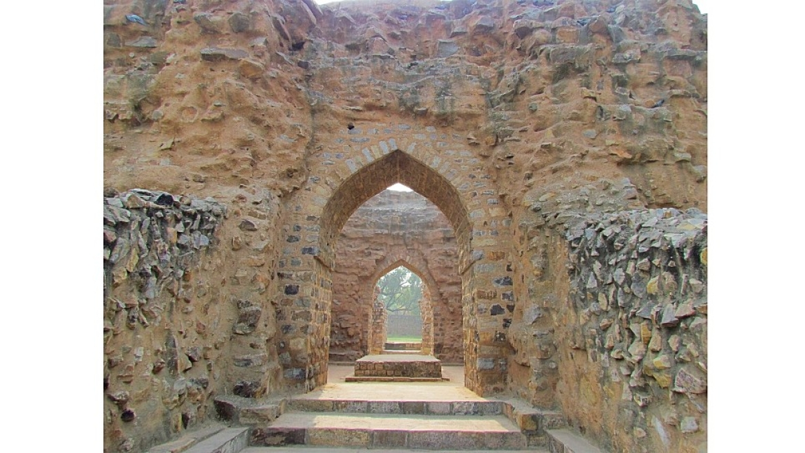 Tomb of Allaudin Khilji in Qutb Complex