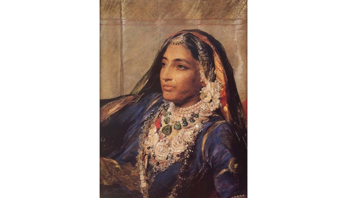 Portrait of Rani Jindan
