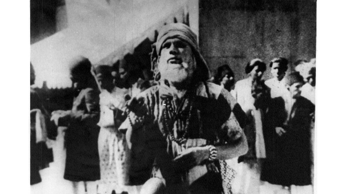 W M Khan in the role of a fakir