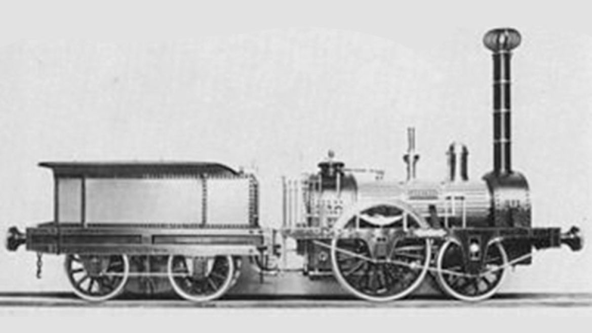 Early steam powered Locomotives