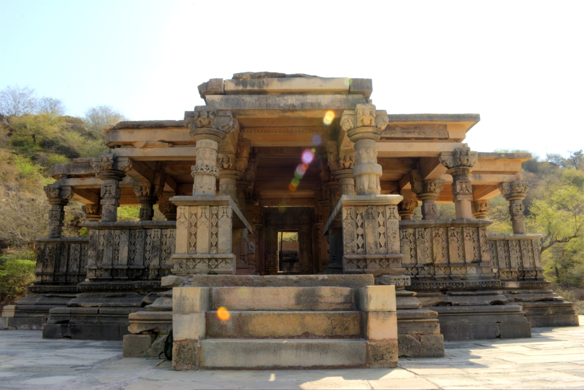 One of the restored Vishnu Temple at Bateshwar temple complex