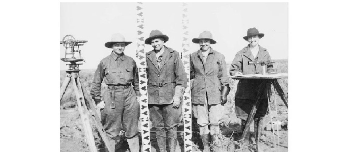 A Survey Team, Idaho, 1918