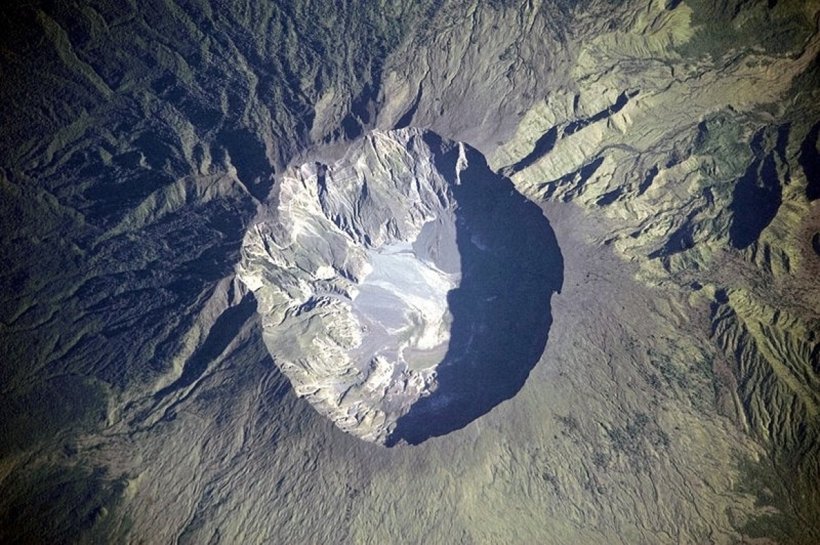 Caldera of Mount Tambora, Sumbawa, Indonesia