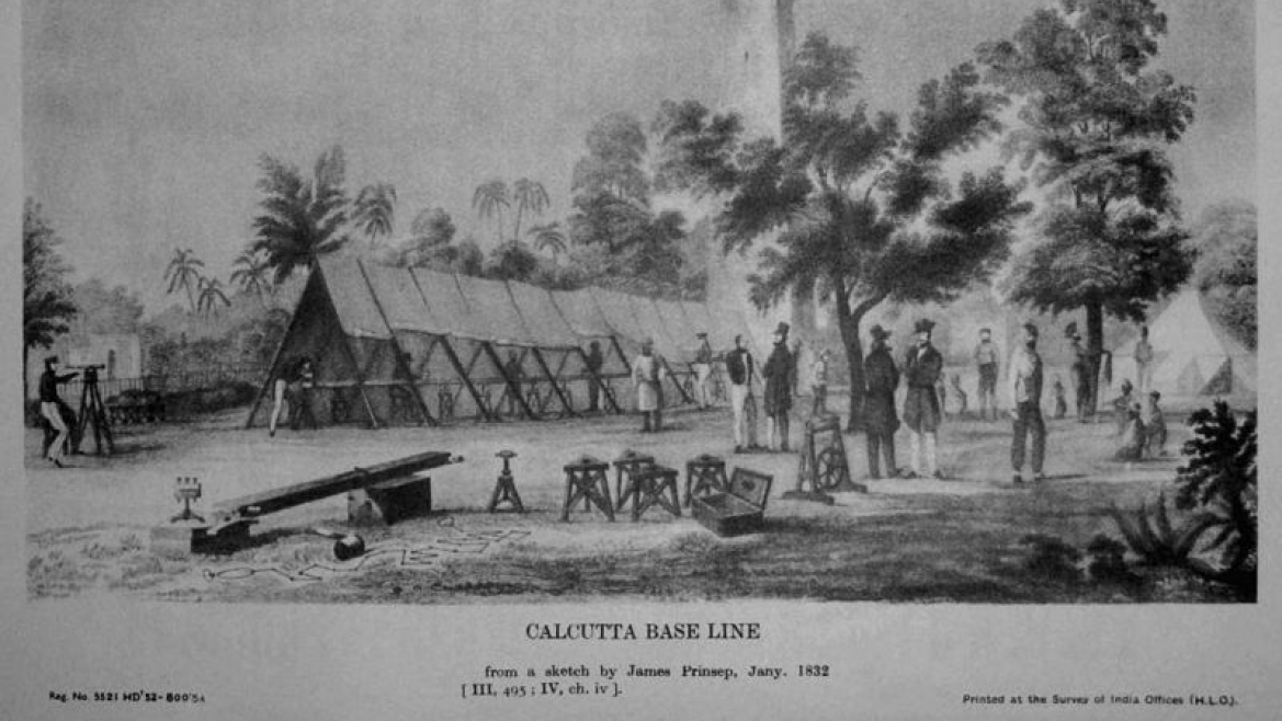 Measuring the Calcutta Baseline, 1832
