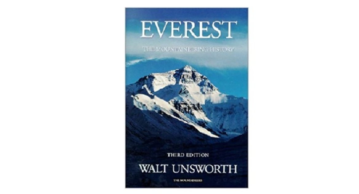 Book 'Everest: The Mountaineering History' by Walth Unsworth