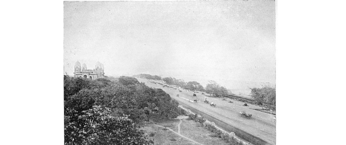 Madras (Marina) Beach, Madras, 1913