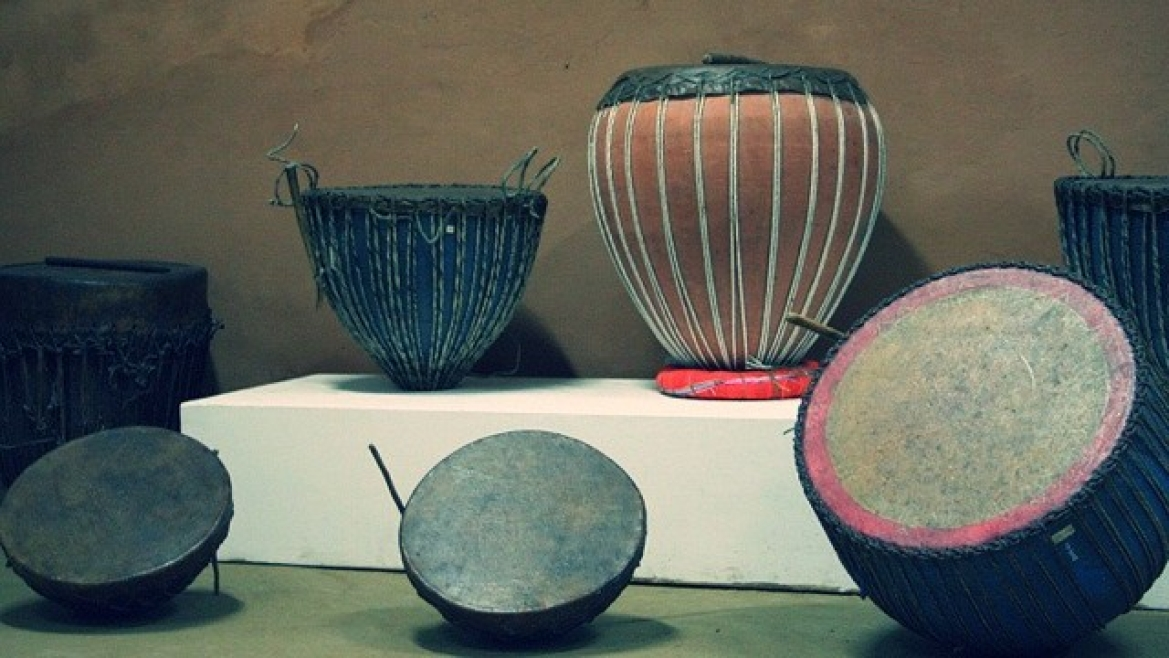 Ancient Indian drums, Madhya Pradesh