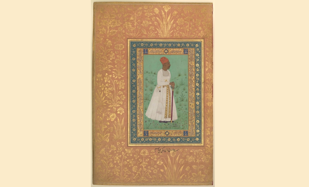 Miniature painting of Lakhuji Jadhavrao