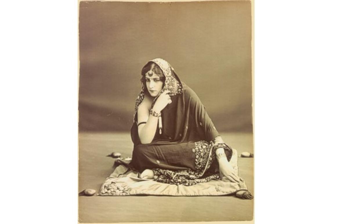 Anita as Maharani Prem Kaur