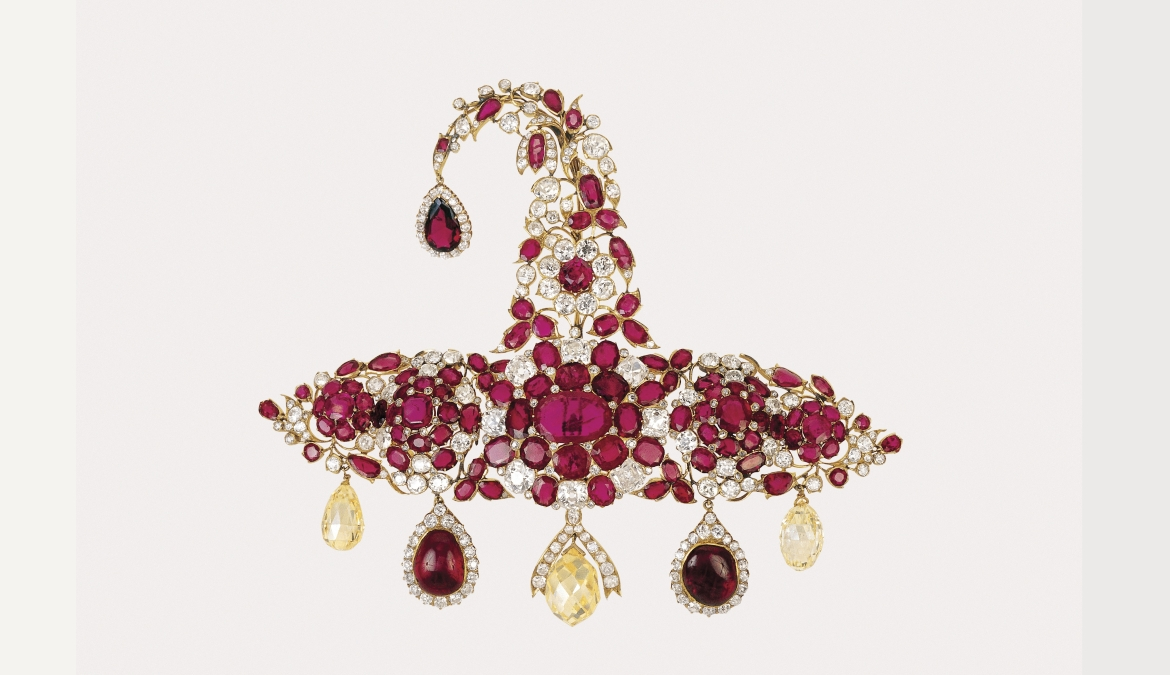 Sarpech (turban ornament), Hyderabad, late 19th century
